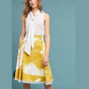 Anthropologie Painterly Skirt